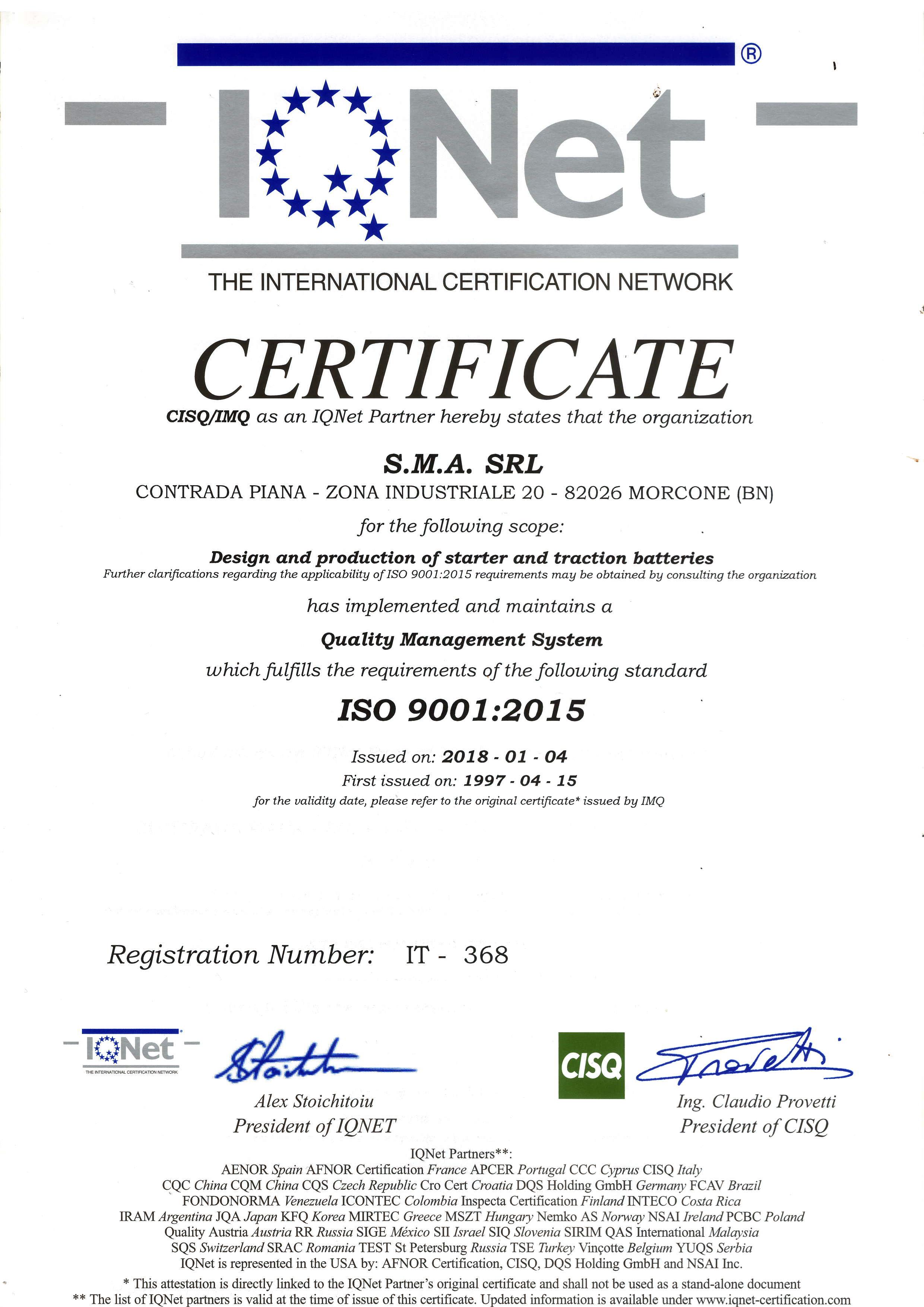 IQNET_SMA_ISO9001_2015