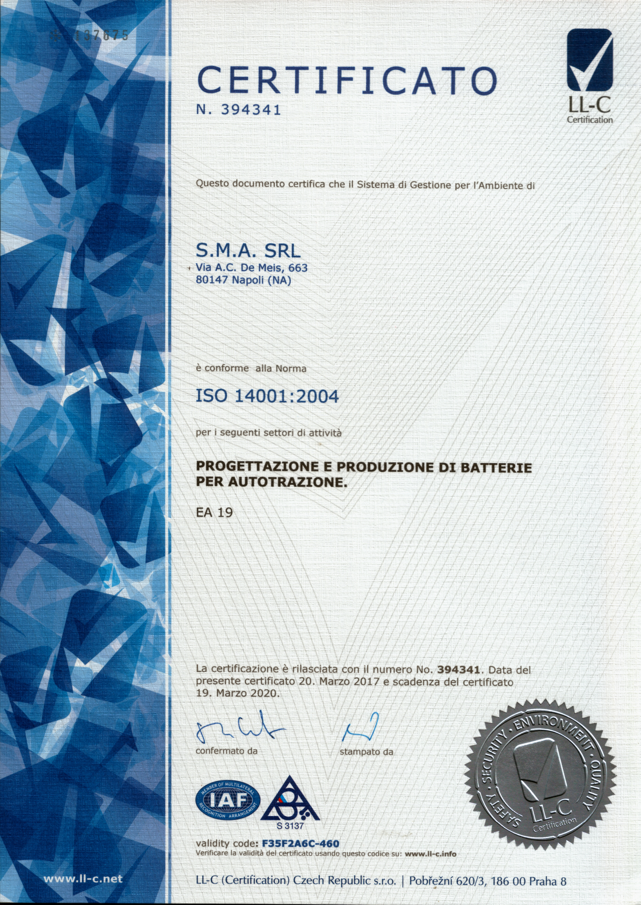 ISO 14001-ITA